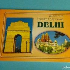 Postales: 12 POSTALES DELHI. Lote 290473498