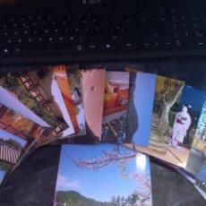 Postales: SET CON 22 POSTALES DE JINGU, THE GRAND SHRINE OF ISE Y OTRAS MÁS JAPONESAS. RARA. SIN CIRCULAR. CAR. Lote 295706803