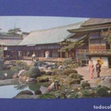 Postales: POSTAL DE JAPÓN, AEROLÍNEAS PANAM PAN AM. SAMBOIN TEMPLE IN KYOTO.. Lote 296617658