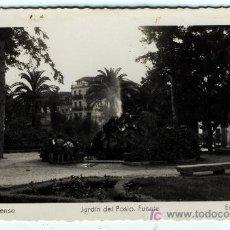 Postales: ORENSE JARDIN DEL POSIO. FUENTE Nº 19 EDICION DE ARRIBAS SIN CIRCULAR . Lote 4142722