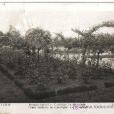 Postales: GIJON, PARQUE ISABEL LA CATOLICA, . Lote 23355149