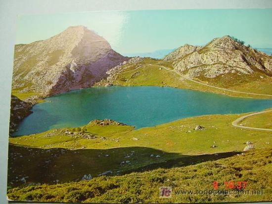 5761 LAGO ENOL ASTURIAS MIRA MAS POSTALES DE ESTA CIUDAD EN MI TIENDA TC COSAS&CURIOSAS (Postales - España - Asturias Moderna (desde 1.940))