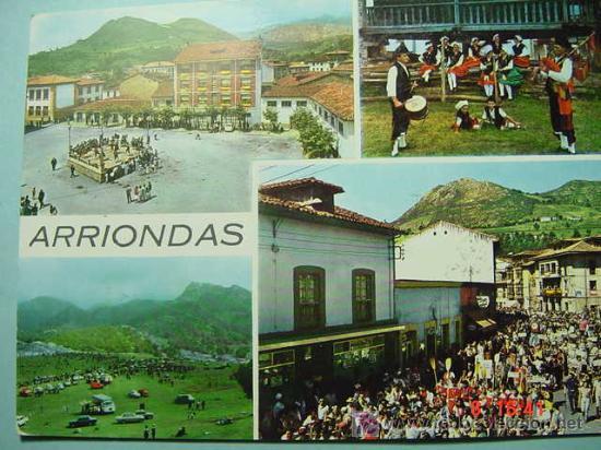 5768 ARRIONDAS ASTURIAS MIRA MAS POSTALES DE ESTA CIUDAD EN MI TIENDA TC COSAS&CURIOSAS (Postales - España - Asturias Moderna (desde 1.940))