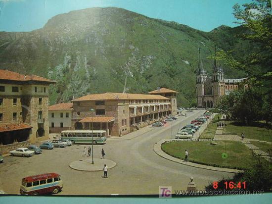 5769 COVADONGA ASTURIAS MIRA MAS POSTALES DE ESTA CIUDAD EN MI TIENDA TC COSAS&CURIOSAS (Postales - España - Asturias Moderna (desde 1.940))