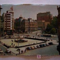 Postales: POSTAL DE OVIEDO - PLAZA GENERALISIMO Y DIPUTACION AL FONDO, ESCRITA 1980 (SIN CIRCULAR). Lote 23478359