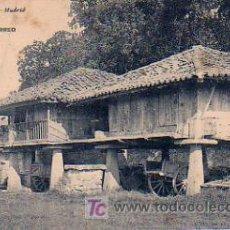 Postales: GIJÓN. (SOMIÓ) UN HÓRREO. EL MUELLE DE ABTAO. HAUSER Y MENET 1972. . Lote 5049845