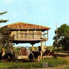 Postales: POSTAL HORREO ASTURIANO AÑOS 60. Lote 6994993