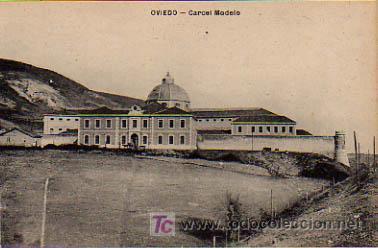 OVIEDO. CÁRCEL MODELO. (ED. M.G., OVIEDO) (Postales - España - Asturias Antigua (hasta 1.939))