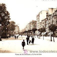 Postales: POSTAL DE OVIEDO Nº18, PASEO DE JOSE ANTONIO Y CALLE URIA, FOTOGRAFICA ED. ARRIBAS. Lote 7129060