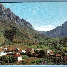 Postales: VALLE DE VALDEON. POSADA AL FONDO TORES DE ARISTAS. PICOS DE EUROPA. Lote 7330950