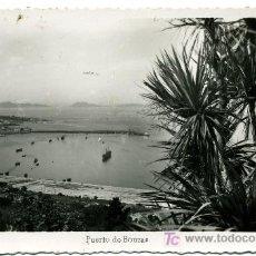 Postales: VIGO Nº 148 - ED. ARRIBAS - PUERTO BOUZAS- FRANQUEADA Y ESCRITA 1952 (VER FOTO). Lote 26256442