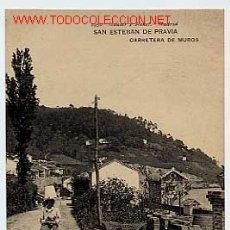 Postales: SAN ESTEBAN DE PRAVIA.. Lote 1422420