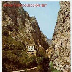 Postales: RUTA DE LOS PICOS DE EUROPA. DESFILADERO DEL CARES. PONCEBOS. ASTURIAS. Lote 1993713