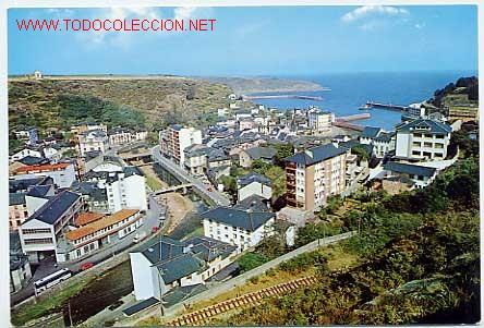 LUARCA. ASTURIAS. VISTA PARCIAL. (Postales - España - Asturias Moderna (desde 1.940))