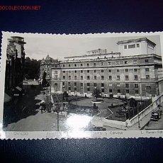 Postales: OVIEDO ASTURIAS - TEATRO CAMPOAMOR Y JARDINES. Lote 4239864