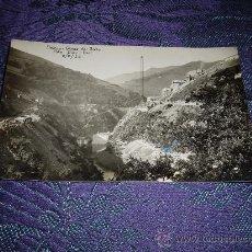 Postales: POSTAL FOTOGRAFICA DOIRAS-OBRAS DEL SALTO FOTO DIAZ BOAL 8-8-32. Lote 12147518