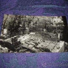 Postales: POSTAL FOTOGRAFICA DOIRAS-OBRAS DEL SALTO CENTRAL 31-7-32 ,FOTO DIAZ BOAL. Lote 12147525