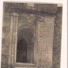 Postales: ANTIGUA POSTAL 16 OVIEDO PUERTA DE LA IGLESIA DE SANTA MARIA DE NARANCO GRAFOS MADRID. Lote 11275836
