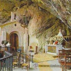 Postales: COVADONGA - GRUTA Y VIRGEN DE COVADONGA. Lote 11479979