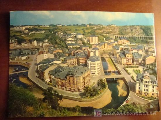 LUARCA, ASTURIAS VISTA PARCIAL (Postales - España - Asturias Moderna (desde 1.940))
