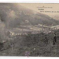 Postales: ASTURIAS. TRUBIA. VISTA GENERAL FABRICA DE ARMAS. ED. LIBRERIA ESCOLAR. FOTOTIPIA HAUSER Y MENET.. Lote 11769637