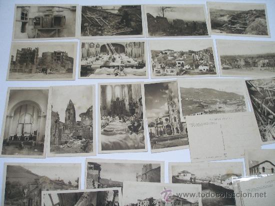 (GUERRA CIVIL). OVIEDO. COLECCION DE 30 POSTALES. FOTO MENDIA. EDIC. PATRONATO MUNICIPAL DEL TURISMO (Postales - España - Asturias Moderna (desde 1.940))