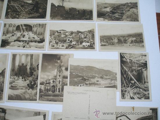 Postales: (Guerra Civil). OVIEDO. COLECCION DE 30 POSTALES. FOTO MENDIA. EDIC. PATRONATO MUNICIPAL DEL TURISMO - Foto 2 - 26849873
