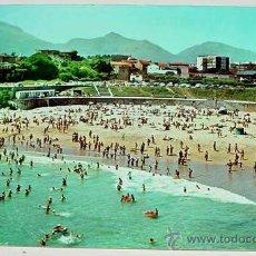 Postales: ANTIGUA FOTO POSTAL DE LLANES - ASTURIAS - PLAYA DEL SABLON - CIRCULADA - ED. GIF.. Lote 12361217
