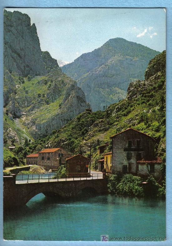 RUTA DESFILADERO DEL CARES. EMBALSE Y PARADOR DE PONCEBOS. EDICIONES ALCE (Postales - España - Asturias Moderna (desde 1.940))