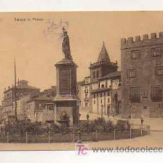 Postales: GIJÓN. ESTATUA DE PELAGO. (ED. 'PRIDA', SERIE EXTRAORDINARIA). . Lote 13481995