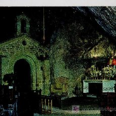 Postales: POSTAL ASTURIAS COVADONGA CAPILLA DE LA CUEVA. Lote 13978229
