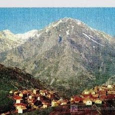Postales: POSTAL PICOS DE EUROPA SOTRES VEGA DE SOTRES Y MACIZO CENTRAL. Lote 13978361