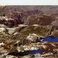 Postales: POSTAL PICOS DE EUROPA LAGOS ERCINA Y ENOL ASTURIAS. Lote 13978444