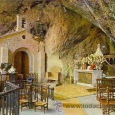 Postales: COVADONGA - GRUTA Y VIRGEN. Lote 14060564