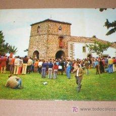 Postales: CANGAS DE NARCEA ASTURIAS SANTUARIO DE NUESTRA SEÑORA DEL ACEBO 1969. Lote 25594051