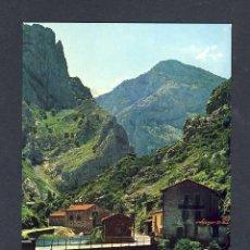 Postales: POSTAL DE CAMARMEÑA (ASTURIAS): EMBALSE Y PARADOR DE PONCEBOS (ED.ALCE NUM.281). Lote 14586080