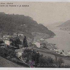 Cartes Postales: ASTURIAS. SAN ESTEBAN DE PRAVIA Y LA ARENA. HAUSER Y MENET Nº 1944. SIN CIRCULAR. Lote 15052687