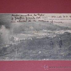 Postales: TRUBIA ( ASTURIAS ) VISTA GENERAL DE LA FABRICA DE ARMAS, LIBRERIA ESCOLAR - OVIEDO, CIRCULADA 1918. Lote 15628095