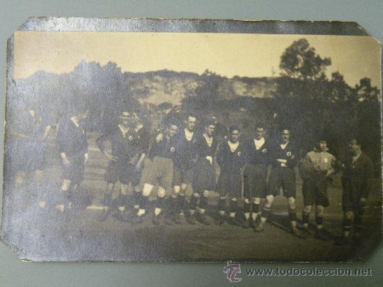 POSTAL FOTOGRAFICA STADIUM AVILESINO 1920 AVILES ASTURIAS PRADO DE LA ROXA? LAS AROBIAS? CARNERO? (Postales - España - Asturias Antigua (hasta 1.939))