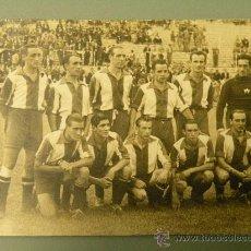 Postales: FOTOGRAFIA STADIUM DE AVILES CAMPEON DE ESPAÑA AMATEUR EN MADRID VALLECAS 1940 ANTE SEVILLA ASTURIAS. Lote 27218571