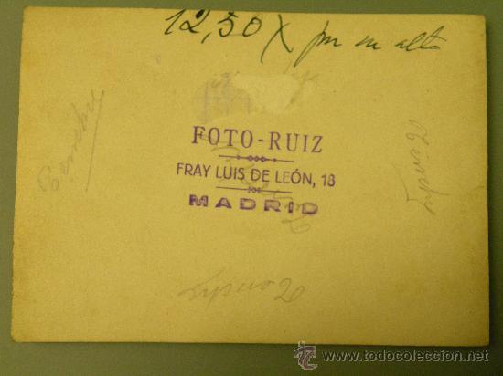 Postales: REVERSO DE LA FOTO - Foto 2 - 27218571
