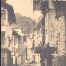 Postales: CUDILLERO(ASTURIAS).-UNA CALLE. Lote 15952131