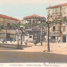 Postales: RIBADESELLA(ASTURIAS).- LA PLAZA NUEVA . Lote 15952829