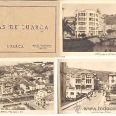 Postales: LUARCA(ASTURIAS).-ÁLBUM COMPLETO DE 15 VISTAS . Lote 15954721
