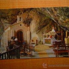Postales: POSTAL COVADONGA GRUTA Y VIRGEN DE COVADONGA SIN CIRCULAR. Lote 15963520