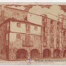 Postales: ASTURIAS. OVIEDO. PLAZUELA DE ALFONSO II EL CASTO. PLAZA DE LA CATEDRAL . ED. LUBA. SIN CIRCULAR. Lote 16086071