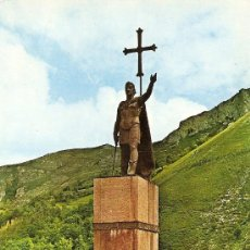Postales: COVADONGA (ASTURIAS) - MONUMENTO AL REY DON PELAYO. Lote 16280173