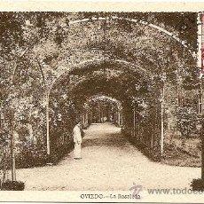 Postales: OVIEDO - LA ROSALEDA - CIRCULADA 1947. Lote 16586297
