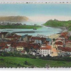 Postales: TARJETA POSTAL DE RIBADESELLA VISTA GENERAL ASTURIAS. Lote 17036533