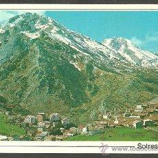 Postales: PICOS DE EUROPA - SOTRES 1050 M. ALT. - AL FONDO PEÑA CASTIL Y COLLADO DE PANDEBANO - ED. SANDI. Lote 17434943